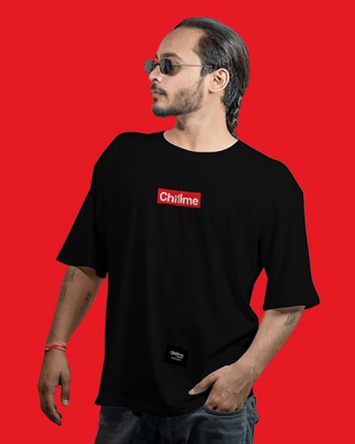 Hip Hop T-shirts Hype Is Now Loose Fit Hip Hop Tee Black