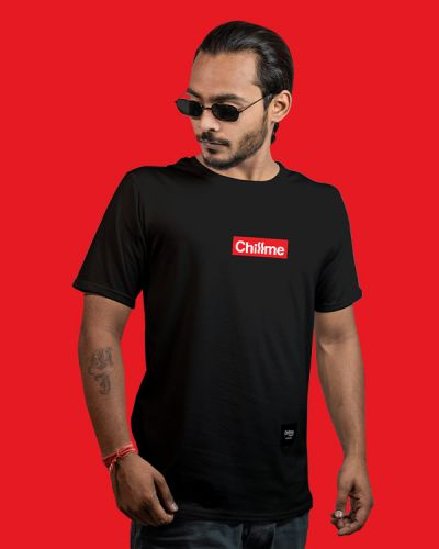 Regular Fit Tshirts Hype Is Now Regular Fit T-shirt Black