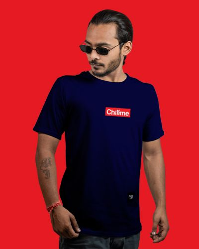 Regular Fit Tshirts Hype Is Now Regular Fit T-shirt Blue