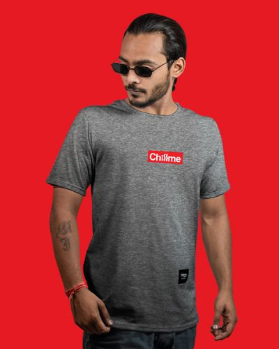 Regular Fit Tshirts Hype Is Now Regular Fit T-shirt Grey