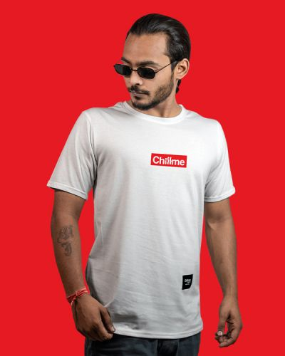 Regular Fit Tshirts Hype Is Now Regular Fit T-shirt White