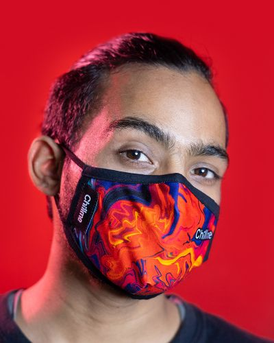 Everyday Mask Lava Red