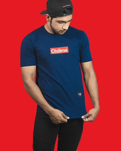 Regular Fit Tshirts Rep Your Style T-shirt For Hip Hoppers Blue
