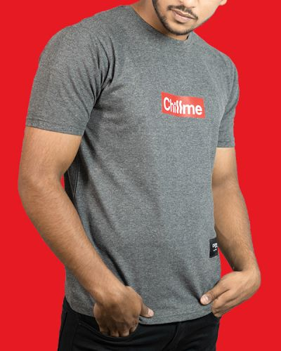 Regular Fit Tshirts Rep Your Style T-shirt For Hip Hoppers Grey