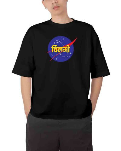 Space Mission Oversized T-shirt